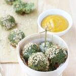 polpette vegetariane al basilico e quinoa