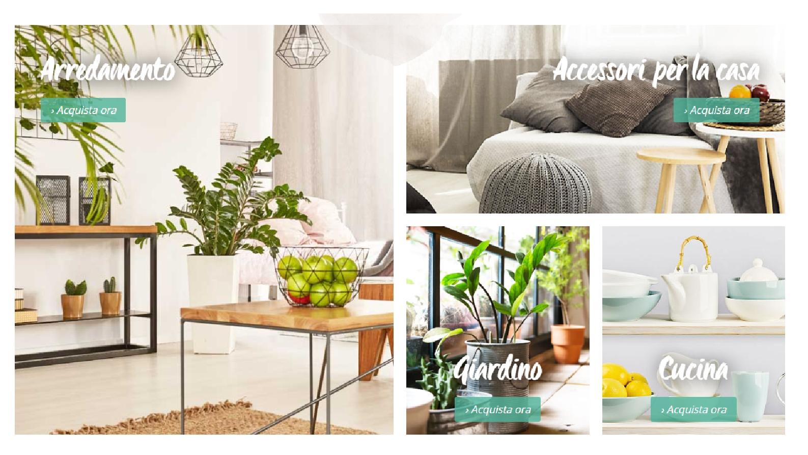 Shopping online per l'arredamento su LionsHome